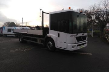 2008 08 MERCEDES 1823LL ECONIC SCAFFOLD BODY EURO 4