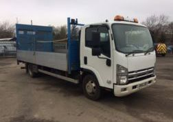 Photography of 2012 62 ISUZU NPR-75 190 DROP SIDE WITH TAIL LIFT EURO 5