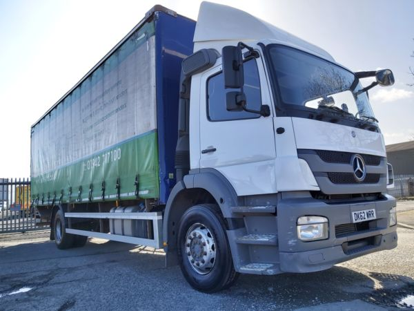 2012 62 Mercedes Benz 1824 Atego 28ft Curtain Euro 5 Trucks 2 Go Used Trucks For Sale In The Uk
