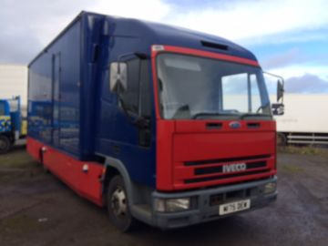 1994 IVECO FORD CARGO 75E15 RACING TRUCK