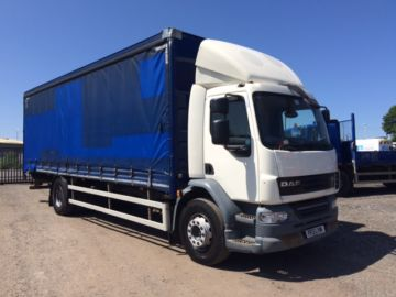 2013 13 DAF LF55.220 CURTAIN SIDE EURO 5