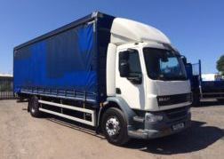 Photography of 2013 13 DAF LF55.220 CURTAIN SIDE EURO 5