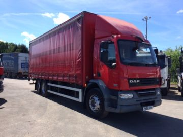 2010 60 DAF LF55.300 CURTAIN SIDE EURO 5