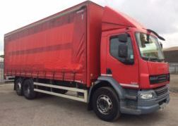 Photography of 2012 62 DAF LF55.300 26FT CURTAIN SIDE EURO 5