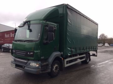 2009 59 DAF LF55.180 13 TON CURTAIN BOX EURO 4