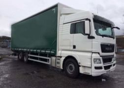 Photography of 2013 13 MAN TGX 26.480XCX 6X2 30FT CURTAIN SLEEPER EURO 5