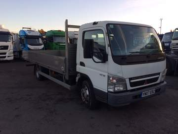 2007 07 MITSUBISHI FE85 CANTER DROP SIDE EURO 4