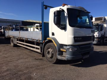 2011 61 DAF LF55-220 BEAVERTAIL EURO 5