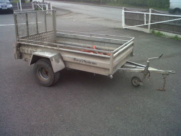 INDESPENSION SINGLE AXLE TRAILER