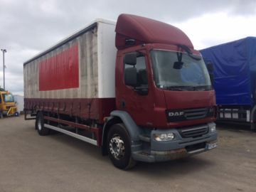 2008 58 DAF LF55.220 4X2 27FT CURTIAIN EURO 4